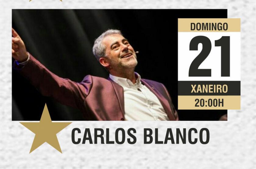 """Remata o ciclo de monólogos """"Humor na súa tinta"""" coa actuación do actor Carlos Blanco"""