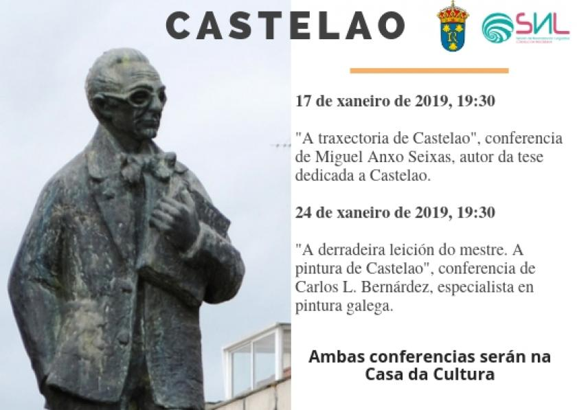 El Departamento de Normalización Lingüística organiza dos conferencias sobre Castelao