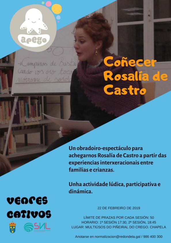 Volven os venres cativos con Rosalía