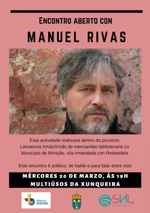 Encontro público con Manuel Rivas