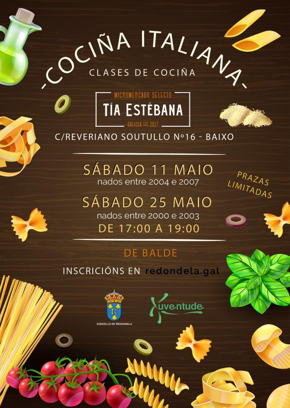 Clases de Cocina Italiana