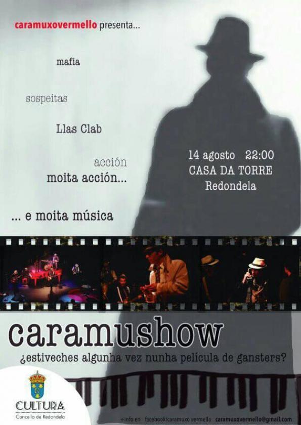 CARAMUXO VERMELLO, música e teatro na Casa da Torre