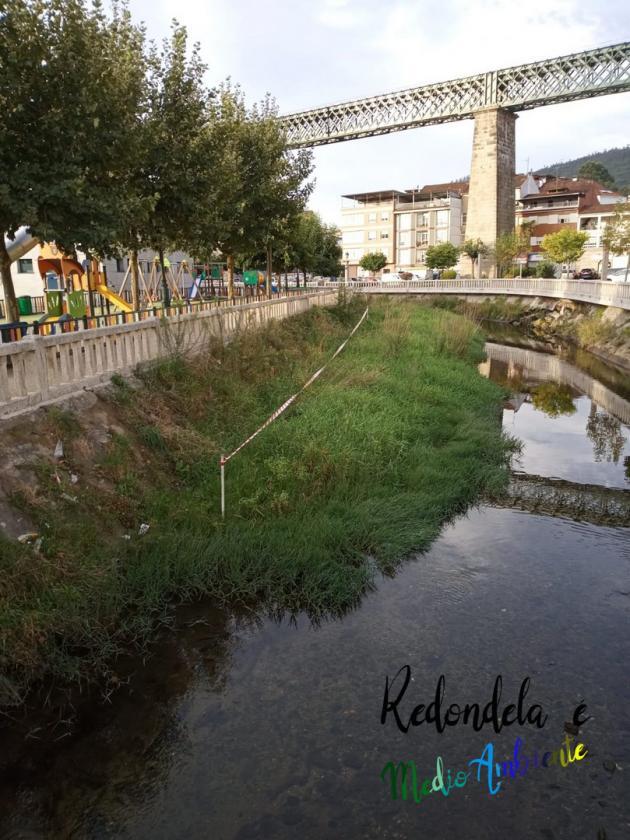 Limpeza gradual e sostible dos ríos de Redondela