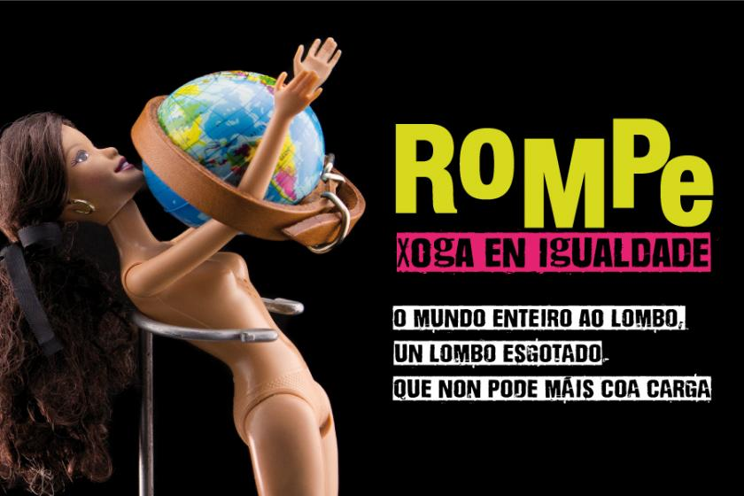 "Exposición:""Rompe. Xoga en Igualdade"", a rompedora mostra con ""Barbies intervidas"" coma protagonistas"