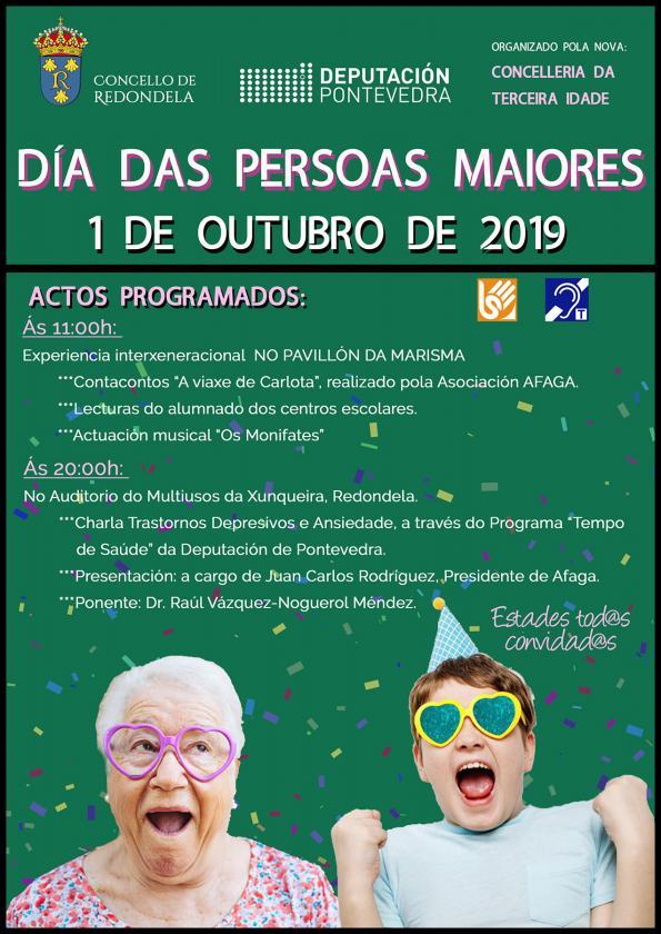 Redondela celebró el Día de las Personas Mayores