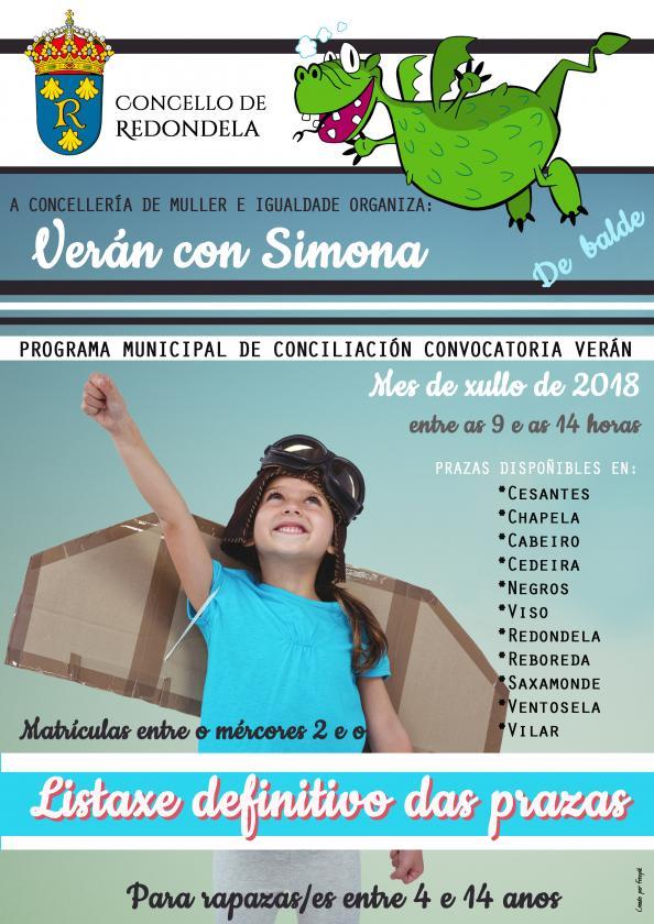 ADMITID@S: Plan Municipal de Conciliación para Verano 2018