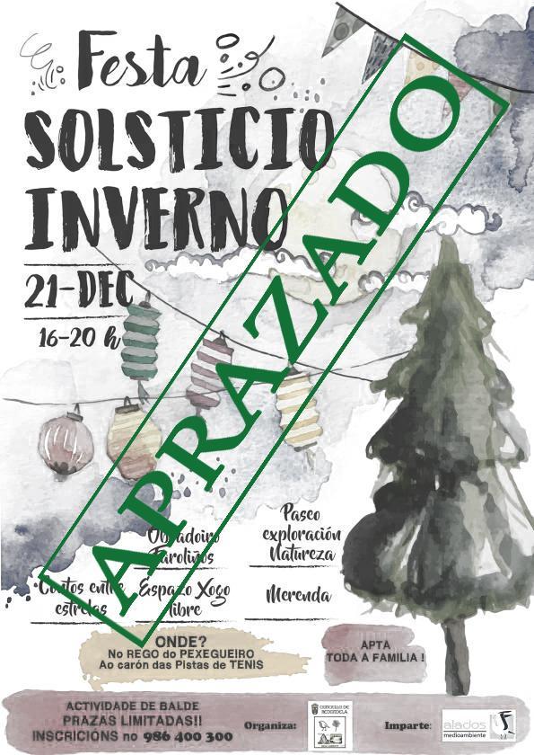 FESTA DO SOLSTICIO DE INVERNO Aprazada