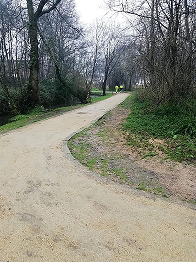 Medio Ambiente abre al público oel paseo del Rego das Maceiras
