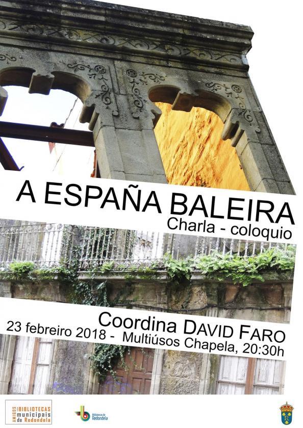 """""""España baleira"""": Charla-coloquio organizada pola Asociación de Amigos das Bibliotecas Municipais de Redondela"""