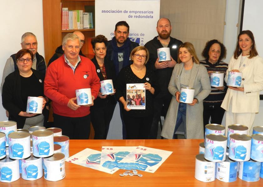 Una campaña solidaria con la participación conjunta de comercio y hostelería