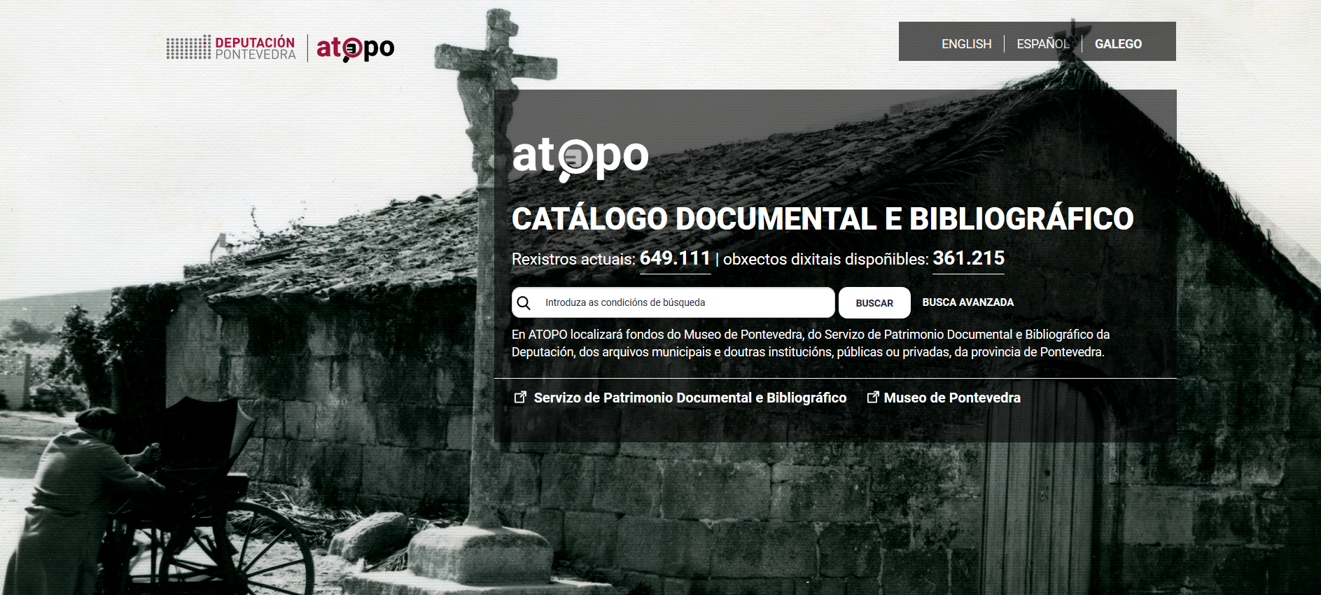 O Arquivo de Redondela participa do proxecto ATOPO da Deputación de Pontevedra