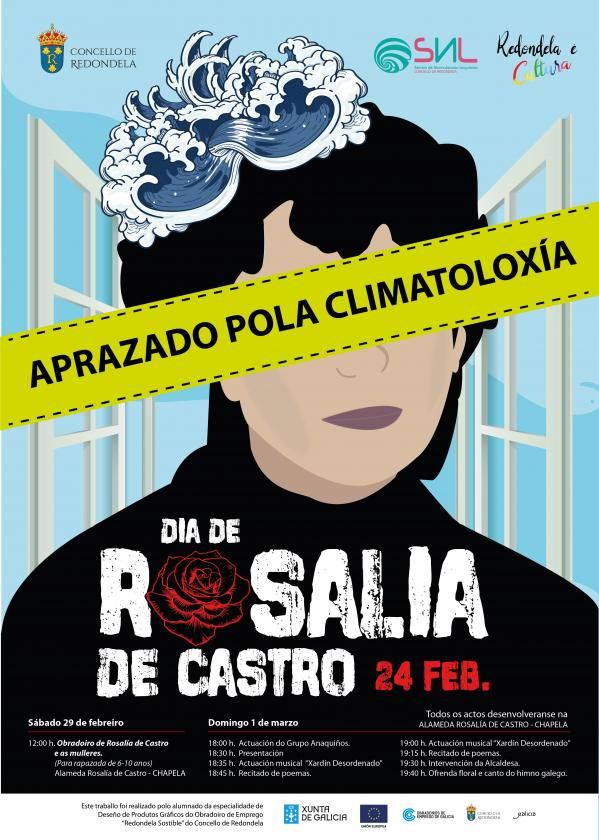 Redondela celebra el Día Rosalía de Castro el 6 de marzo