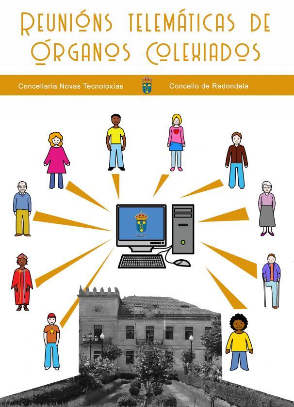 El Concello de Redondela utilizará la vía telemática para realizar las reuniones de los órganos colegiados