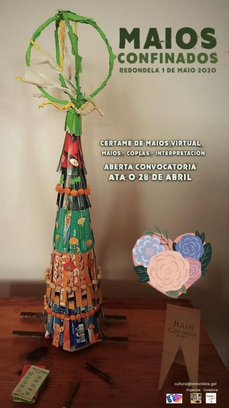 Mayos Confinados: Sinha Paca y Concejalía de Cultura reciben la primavera online