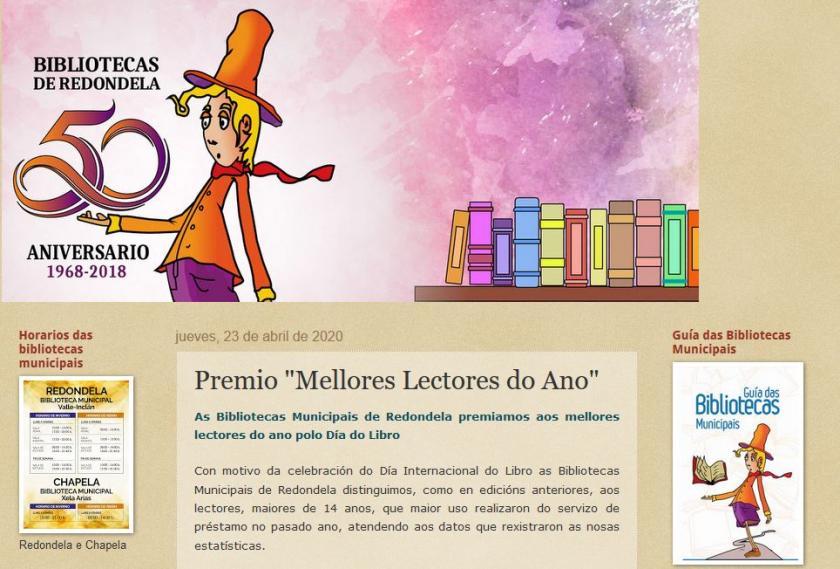 Las Bibliotecas Municipales de Redondela premian a los mejores lectores del año por el Día del Libro