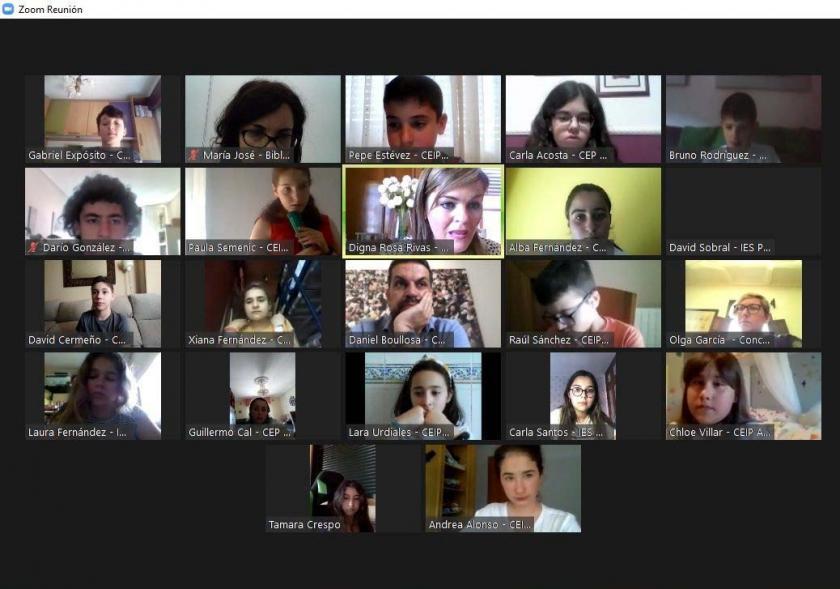 Reunión telemática do Consello Local da Infancia e Adolescencia (CLIA)
