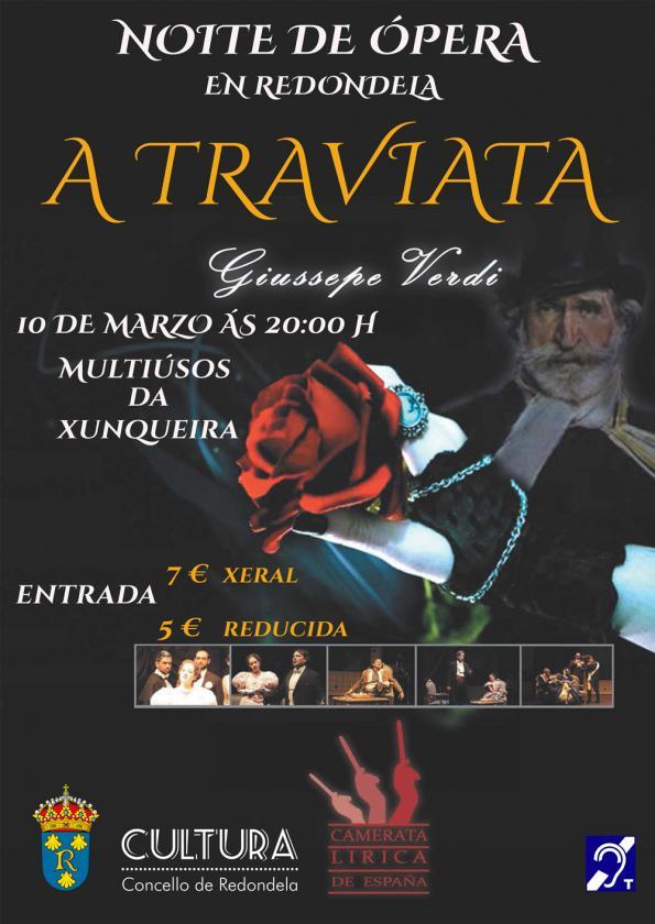 Ópera en Redondela: La Traviata