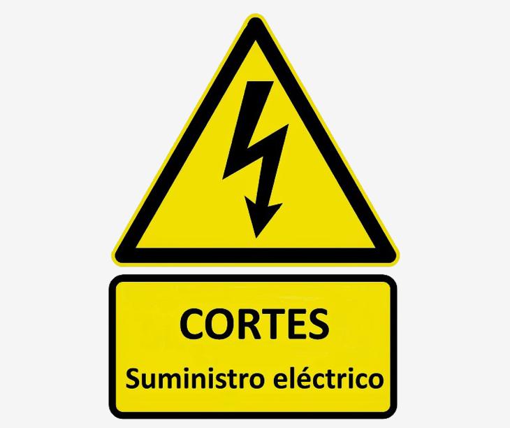 Aviso de corte de Luz en Reboreda e Vilar de Infesta