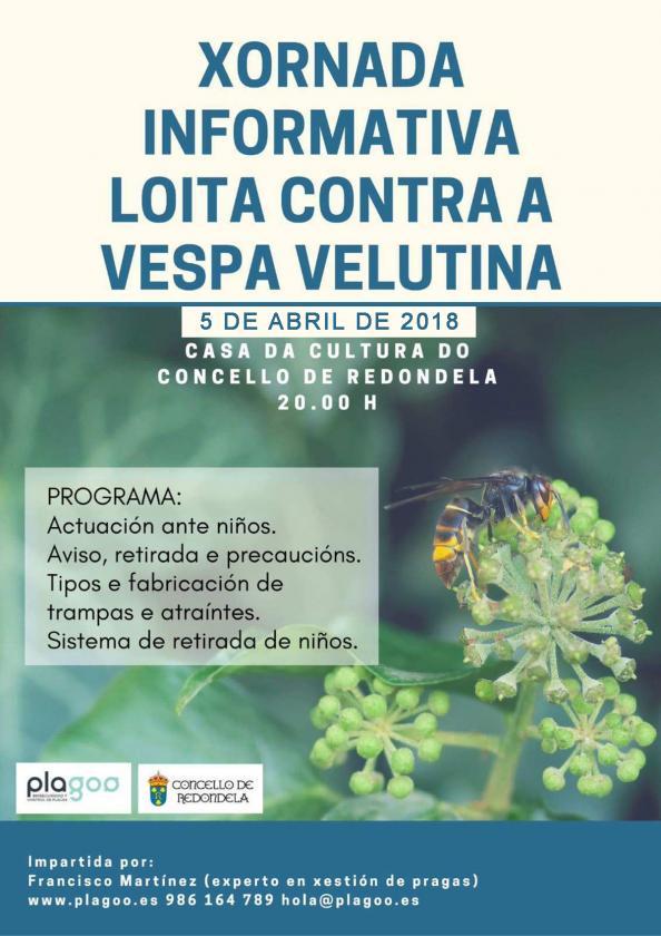 Xornada informativa acerca da loita contra a vespa velutina
