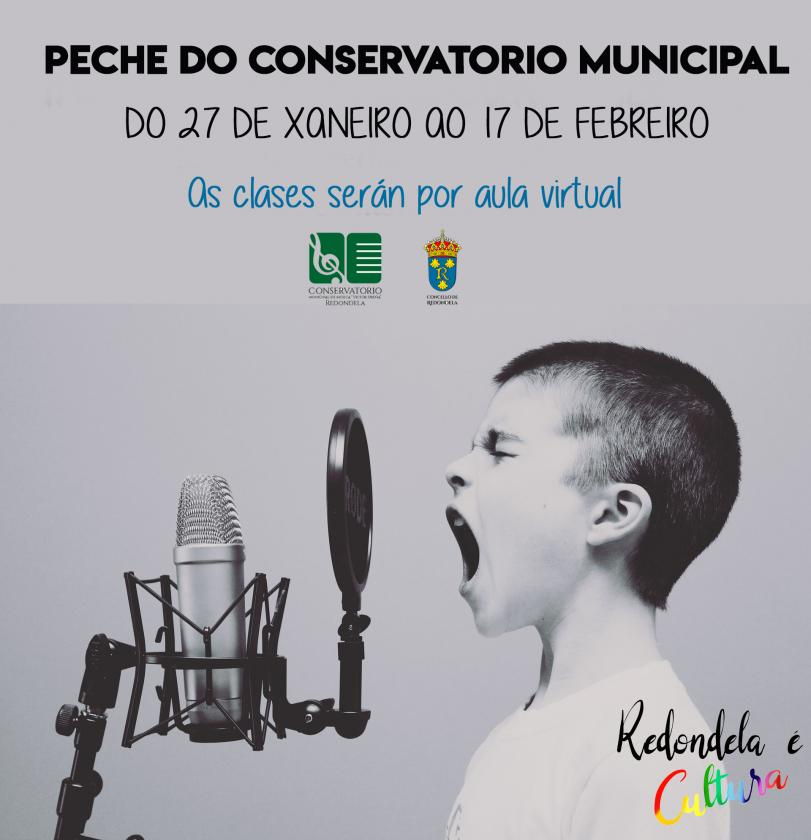 Peche temporal do conservatorio municipal