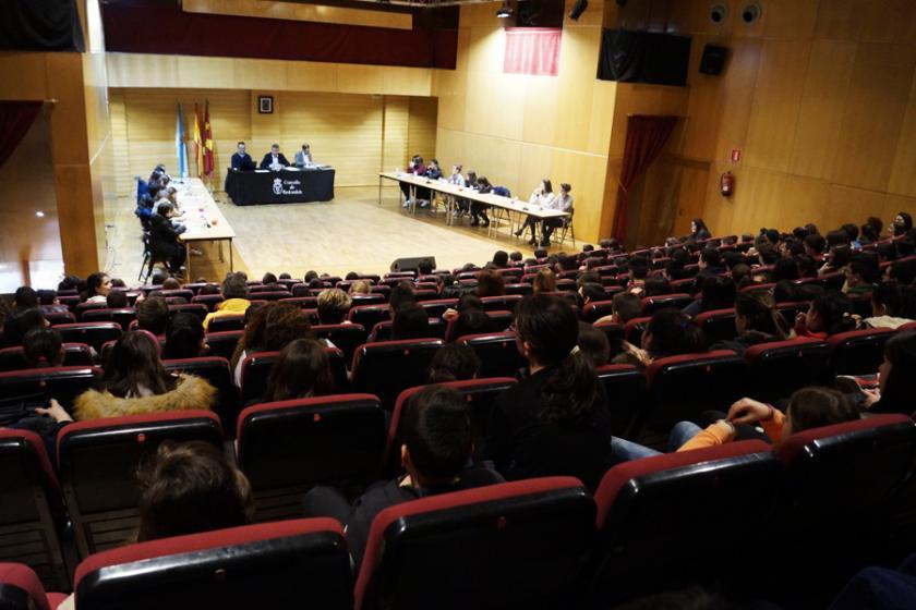 Pleno Infantil en el Ayuntamiento de Redondela