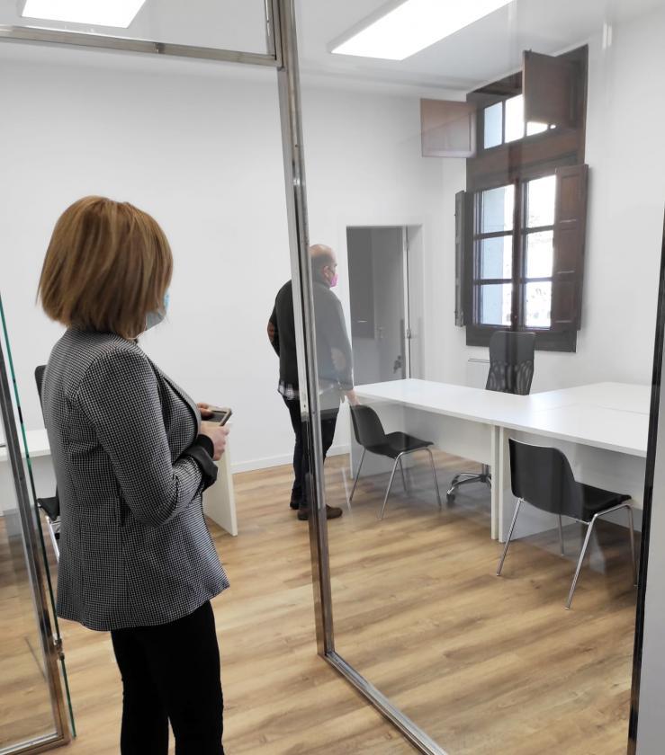 O Goberno local mantén a súa aposta pola accesibilidade nas oficinas da Casa do Concello