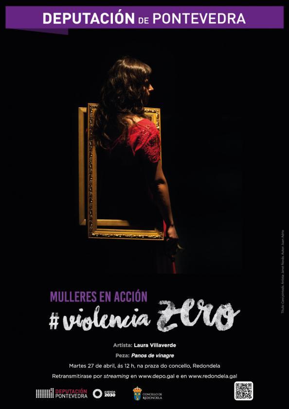 Actividad Mujeres en acción: Volencia Zero en Redondela