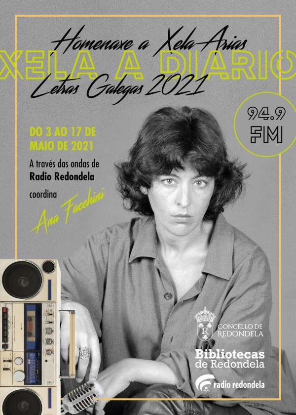 Redondela celebra nas ondas as Letras Galegas 2021