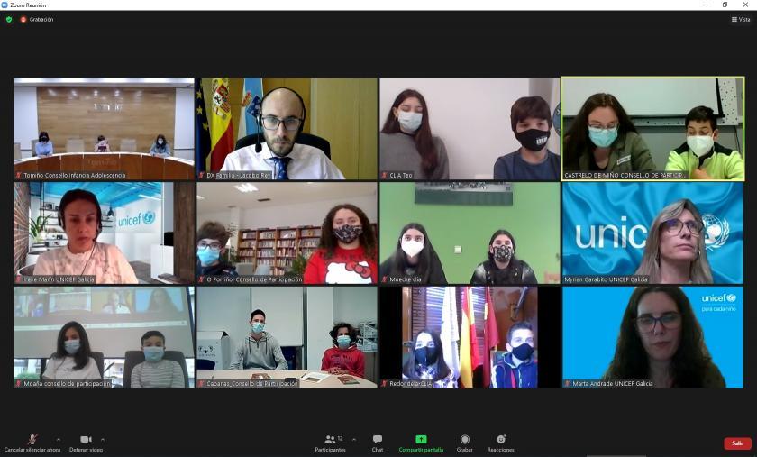 Redondela participa no encontro dos Consellos de Participación de Galicia, organizado por Unicef