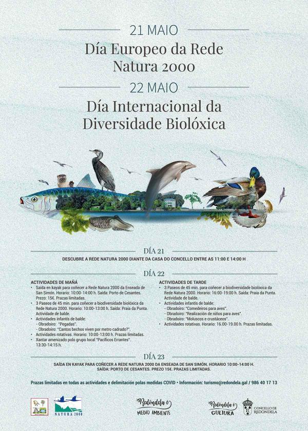 Redondela pone en valor a riqueza natural y biológica de la Red Natura 2000