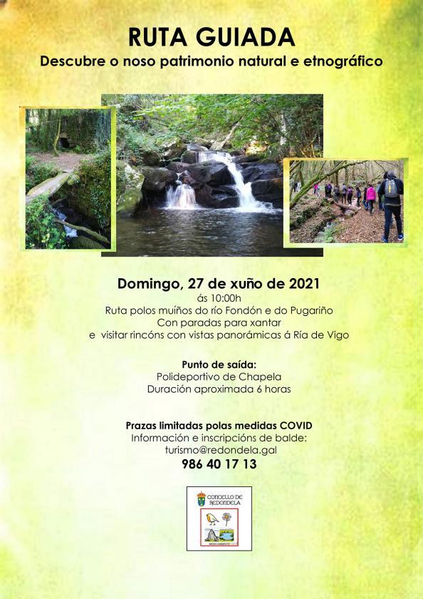 Ruta guiada por el patrimonio natural y etnográfico de Chapela