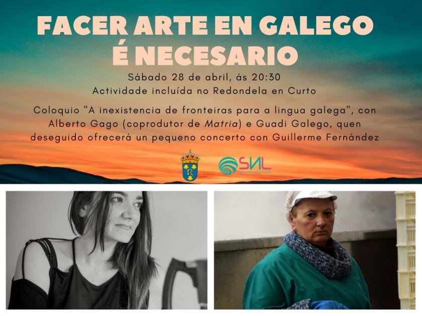 Coloquio y concierto de Guadi gallego