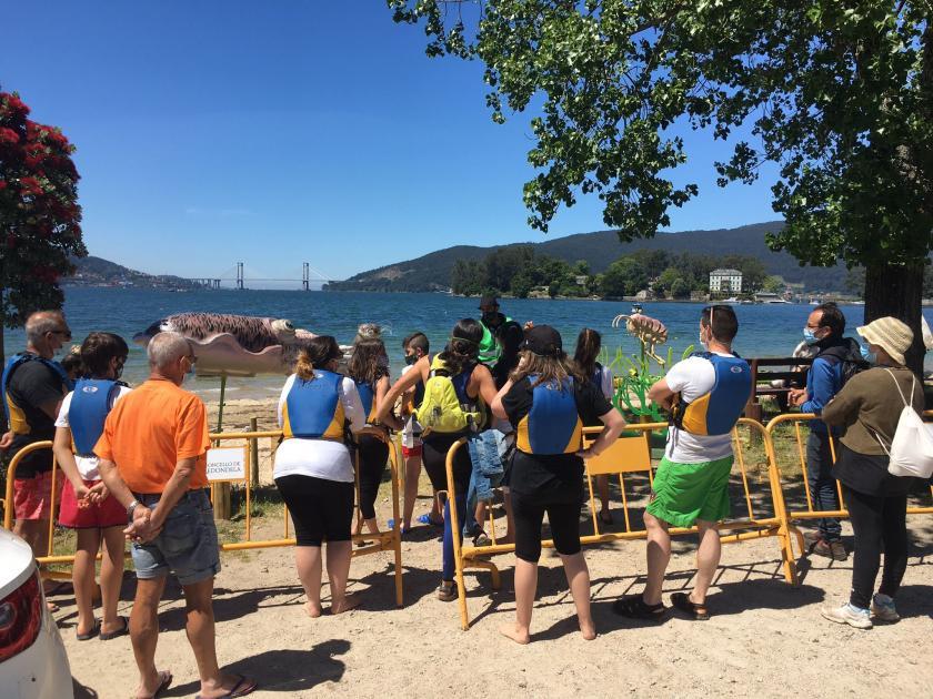 Más de 1.100 personas participaron de las rutas y actividades medio ambientales y turísticas desarrolladas en el último año en Redondela