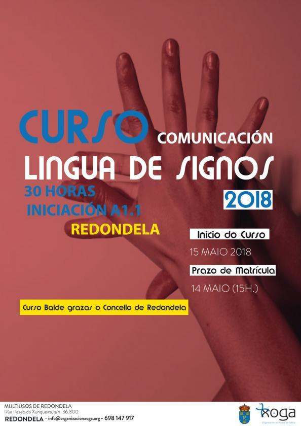 Curso de balde de lingua de signos española