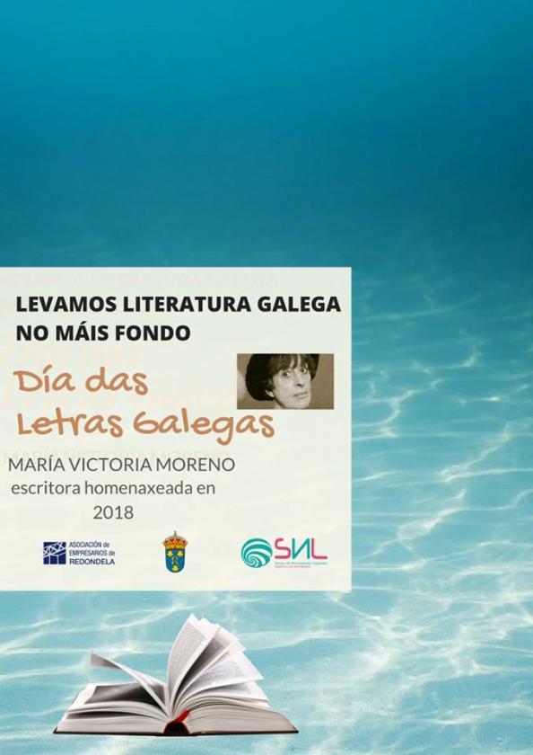 Día de las letras gallegas en el comercio