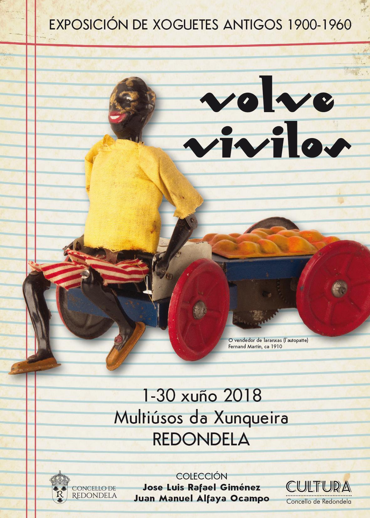 Exposición de juguetes de 1900-1960: VOLVE VIVILOS