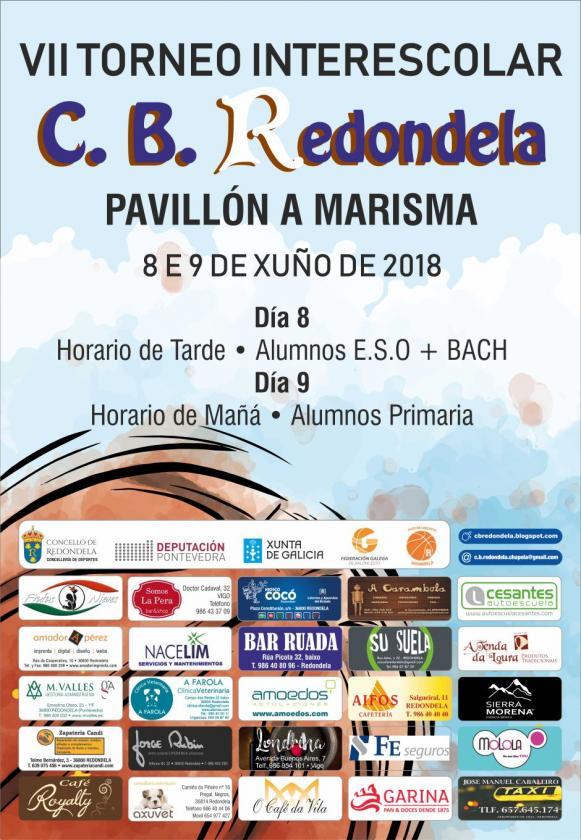 VII torneo interescolar del Club Baloncesto de Redondela