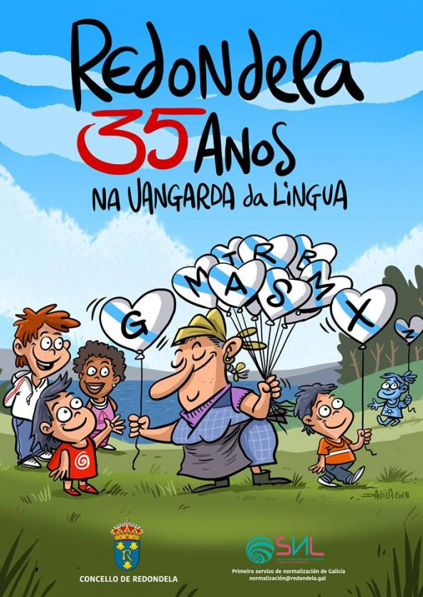 Acto institucional polos 35 anos da Lei de normalización lingüística