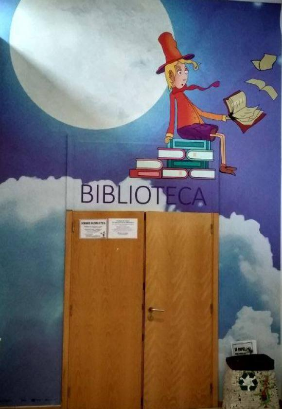 Cómo queres qué se chame a Biblioteca de Chapela?