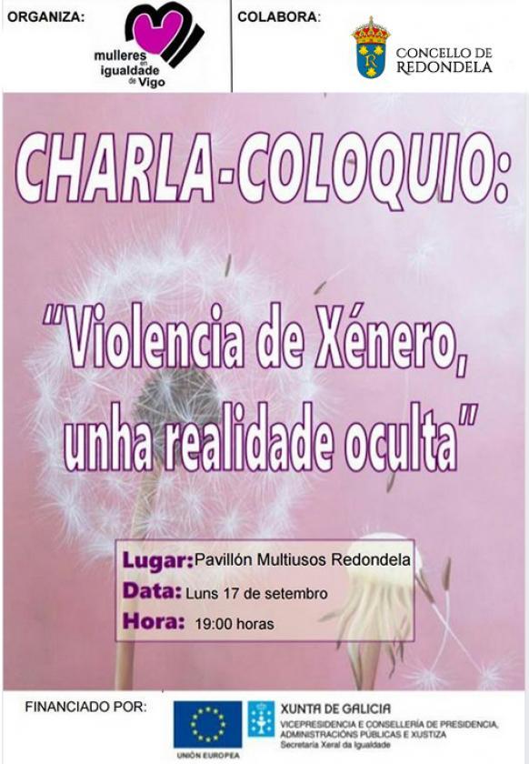 """Charla-coloquio: """"Violencia de xénero, unha realidade oculta"""""""